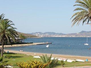 Urbanización Optimist, tranquilidad y vista al Mar Menor - Wifi gratis