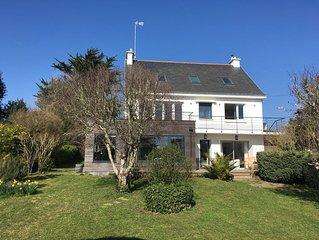 Maison de bord de mer au Pouldu (29) avec vue mer et à 50 mètres des plages
