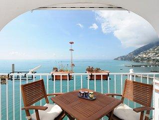 Grazioso appartamento per 2 pax nel centro di Amalfi con terrazza e vista mare