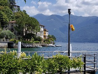 San Mamete - Lake Lugano, Apartment on the lake