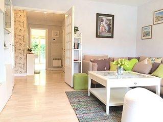 Cap D'Antibes -  Just renovated sleeps 5 - Apartment w/Garden /  Near Sea