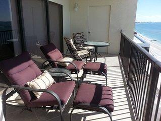 11th Floor Beachfront Condo With Amazing Views!