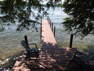 Private island setting with spectacular sunset views and awesome new bunkhouse