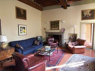 Lovingly Restored, Spacious 16th Century Tuscan Apartment
