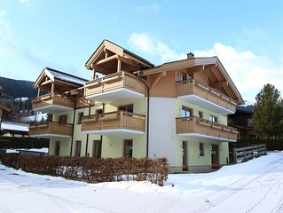 Fabulous ski-in ski-out penthouse right on the slope, with 4 bedrooms