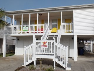 Pet Friendly Private Home 1 Block from Beach * Cherry Groves Southern Cyclone