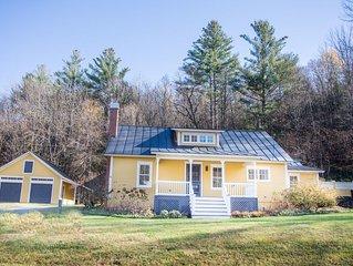 Charming Farmhouse in Warren Village