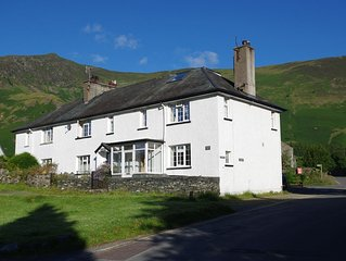 Stunning views within Wainwright's 'loveliest square mile' in Grange, Borrowdale