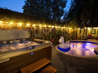 4 suites + pool AND hot tub in the trendiest part of NOLA!