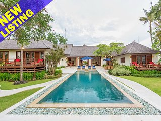 Awali, 4 Bedroom Family Villa+Playground in Canggu