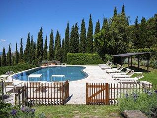 Toscana, Capalbio- Prestigiosa e caratteristica villa con piscina