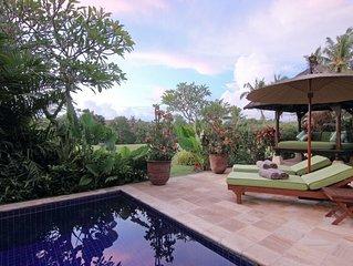 Surya, 3Bedroom Villa,Car+Driver,Tabanan