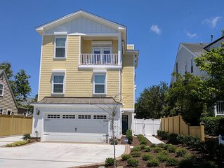 Luxury modern beach house just steps from the beach.  Virginia Beach North End.