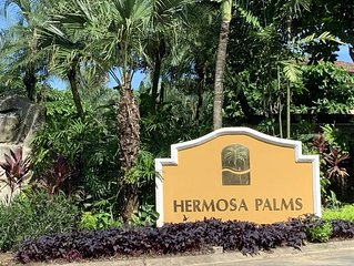 Hermosa Palms w/ Private Pool ; Gated Beachfront Community in Playa Hermosa