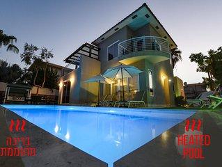 Magnificent villa - Heated pool