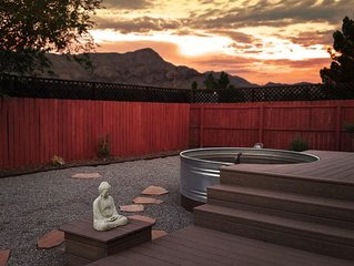 Soak Under the Stars at Your Own Private Natural Hot Spring