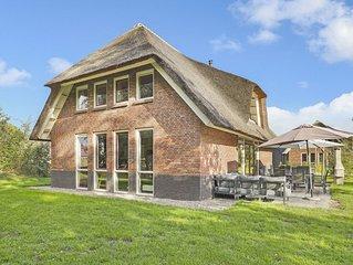 Luxus+ 12-Personen-Ferienhaus im Ferienpark Landal Aelderholt - ländlich gelegen