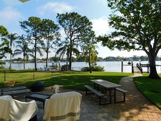 Newly Renovated Gorgeous Waterfront Property w/ Access To Gulf & Tarpon Springs