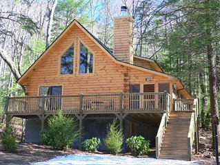 Log Home Retreat - Mt. Mitchell/Blue Ridge Parkway