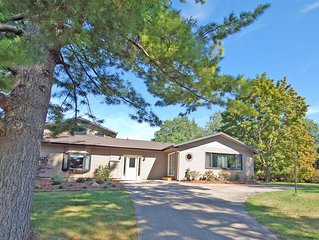 Spacious, Airy Home Located Across the Street from Little Glen Lake; Acc: 12