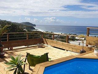 Villa avec belle vue mer et piscine