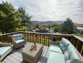 Bring family to southern VT condo. Gorgeous mountain views 4bdr 3bth, wifi