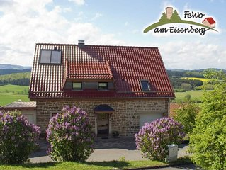 Ferienwohnung am Eisenberg in Korbach-Goldhausen - Ferienwohnung am Eisenberg