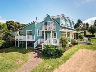 RIVIERA HOUSE, Onetangi : Coast and Country