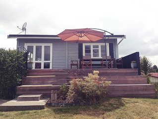 Hatepe Cutie - Very cute holiday home close to town with free Wifi