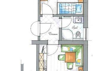 App. II, III oder IV - Röck, Appartements