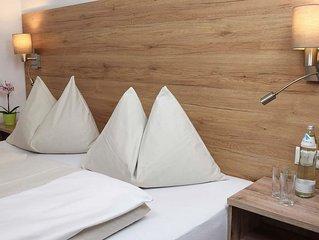 Komfort Doppelzimmer mit Balkon - Hotel Kronenhirsch