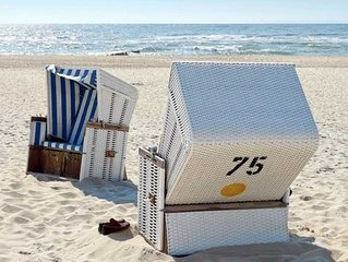 Komfort Fewo - Nahe Glowe - Ferienwohnung  mit Terrasse 265