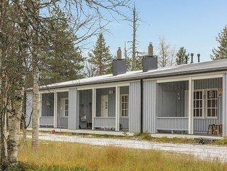 Ferienhaus Saariselän väärtin kammi 1 in Inari - 4 Personen, 1 Schlafzimmer