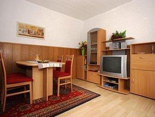 Ferienhaus, Dusche, WC, 2 Schlafraume - Ferienhaus Volkner