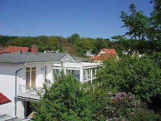 Villa Romantica - großer Wintergarten - 300 m Strand, WLAN - Villa Romantica