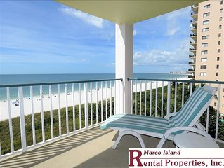 Apollo 507; BEACHFRONT!! COMPLETELY REMODELED Gorgeous views, sunsets, decor. Be