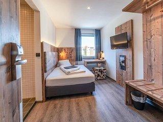 Einzelzimmer Business mit Dusche, WC - BinderS Budget City-Mountain Hotel