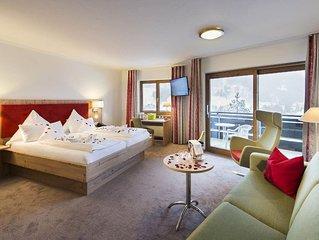 Kat 1  DZ Romantik 38 qm  ab Mai neues Bad mit DU - Auszeithotel Erlebach 4 Ster