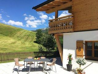 Alpen Komfort - 1 Wohn-, 2 Schlafzimmer mit BAD/WC - Fontain´s Hus
