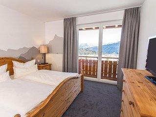 Zweisamkeit Doppelzimmer Dusche/WC/Balkon - Alpengasthof Hörnlepass-Kräuterhotel
