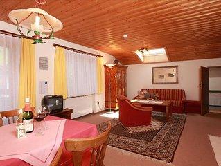 Apartment/2 Schlafraum/Dusche, WC, 'Bergsteiger' - Landhaus Bromm
