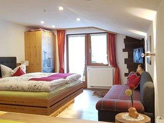 Appartment  Wohn/Schlafbereich/DU/WC '2' - Gästehaus Margit Ott