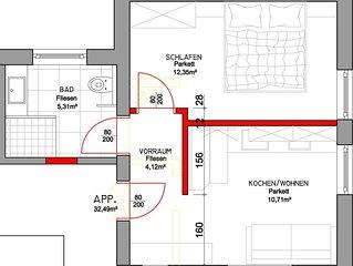 Appartement Wildkogel - Scheuerer, Appartement