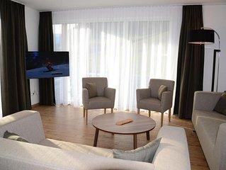 Appartement 8 Personen Erdgeschoss - Apartmenthaus Van der Leij