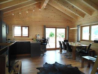 Ferienhaus, 3 Bäder/WC, 3 Schlafräume - 'Chalet 1' - Walser Berg Chalets