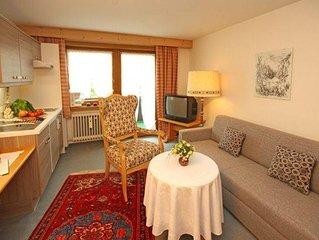 Wohnung Widderstein -  1 Schlafraum mit Dusche/WC - Haus Widdersteinblick