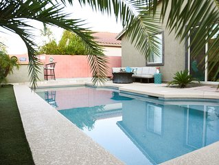 Big Bright & Beautiful - Lush Resort Style home w/heated private pool
