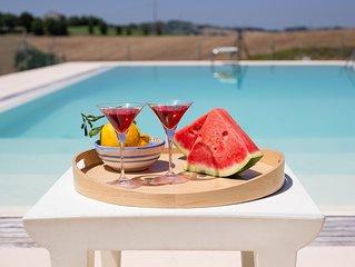 VILLA ALESSANDRA - Private Villa with Pool, coast 3km, wi-fi, air conditioning