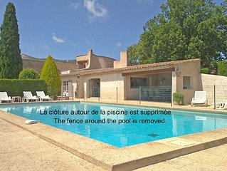 Villa with large private pool in Plan-de-la-Tour