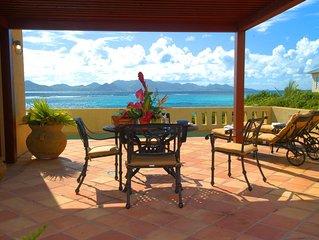 Honeymooners! Romantic Private Anguilla Villa w/Pool, Ocean Views, Beach Access